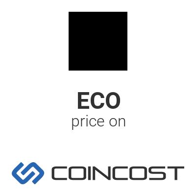 eco cryptocurrency price
