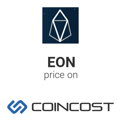 eon cryptocurrency price