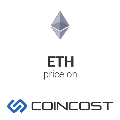 Ethereum ETH price chart online ETH market cap volume and other live and historical cryptocurrency market data Ethereum forecast for 2021 COINCOST