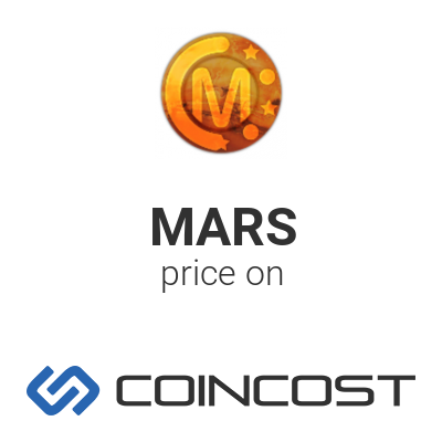 mars coin crypto currency values